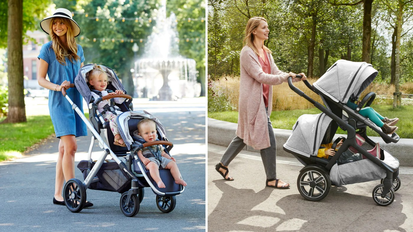Double Pram Australia Reviews Uppababy Vista Vs Nuna Demi Grow Stroller Comparison