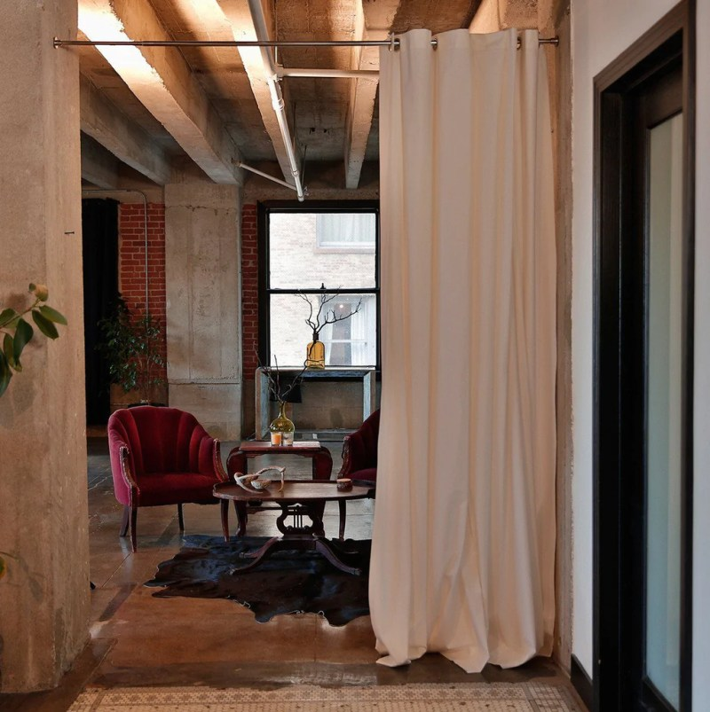 Large Of Room Divider Curtains