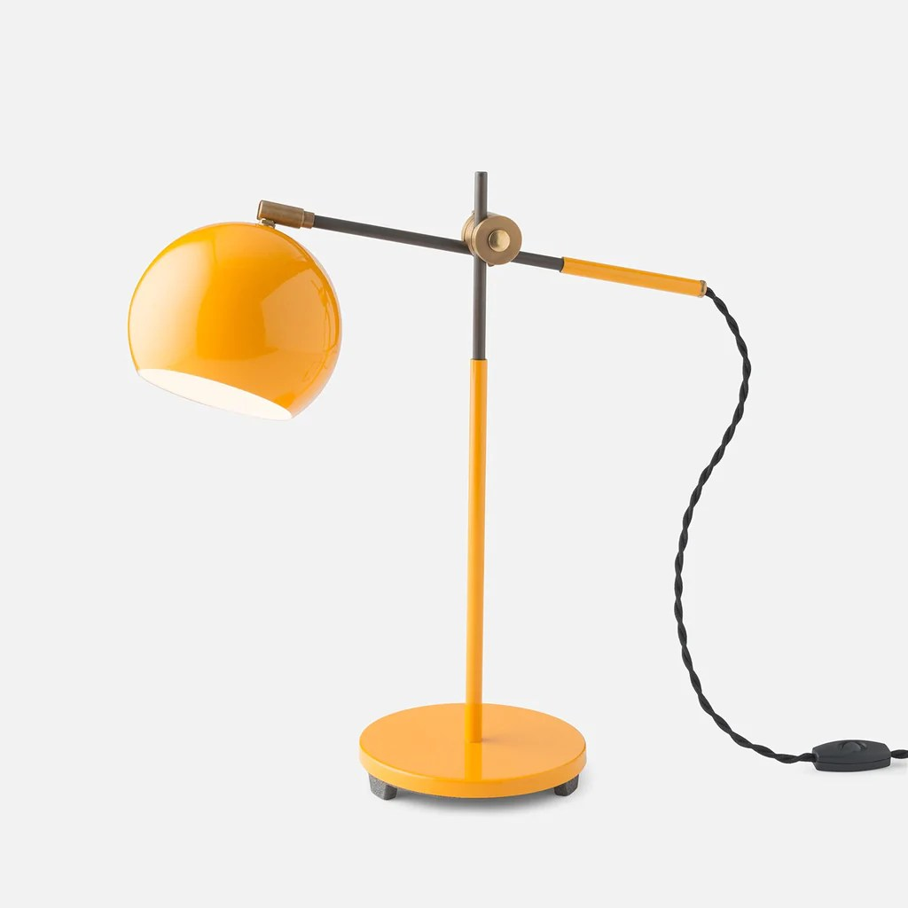 Desk Lamp Studio Desk Lamp Industrial Yellow