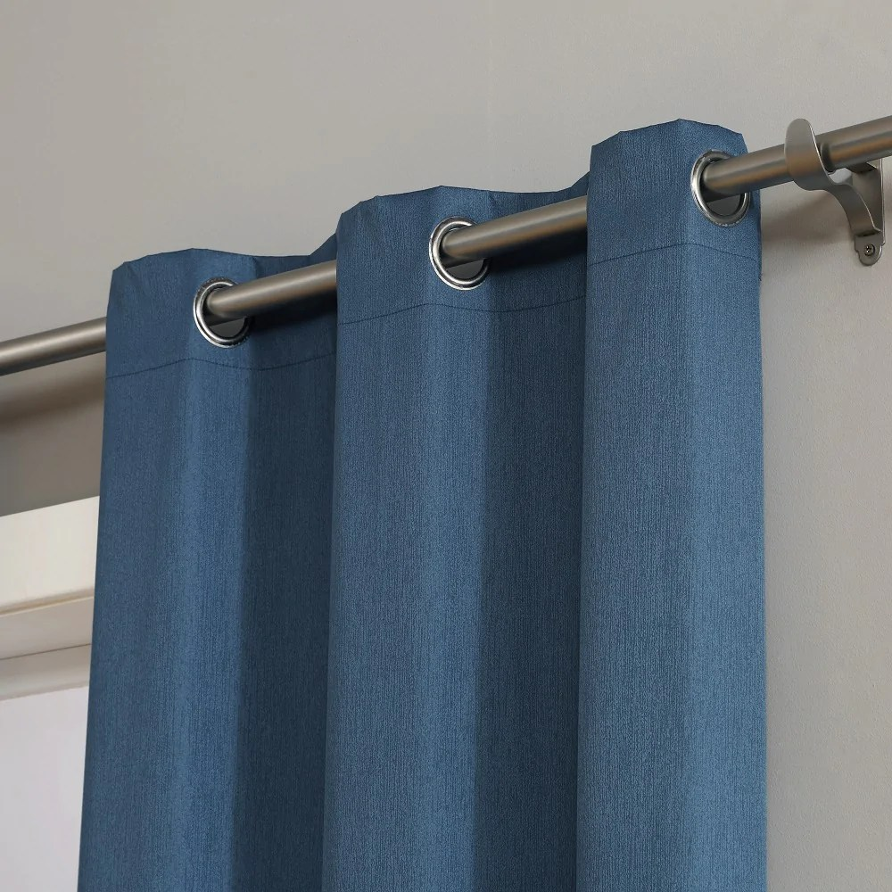 Teal Blackout Curtains Warm Home Designs 100 Blackout Insulated Thermal Bedroom Curtains In Midnight Blue Color