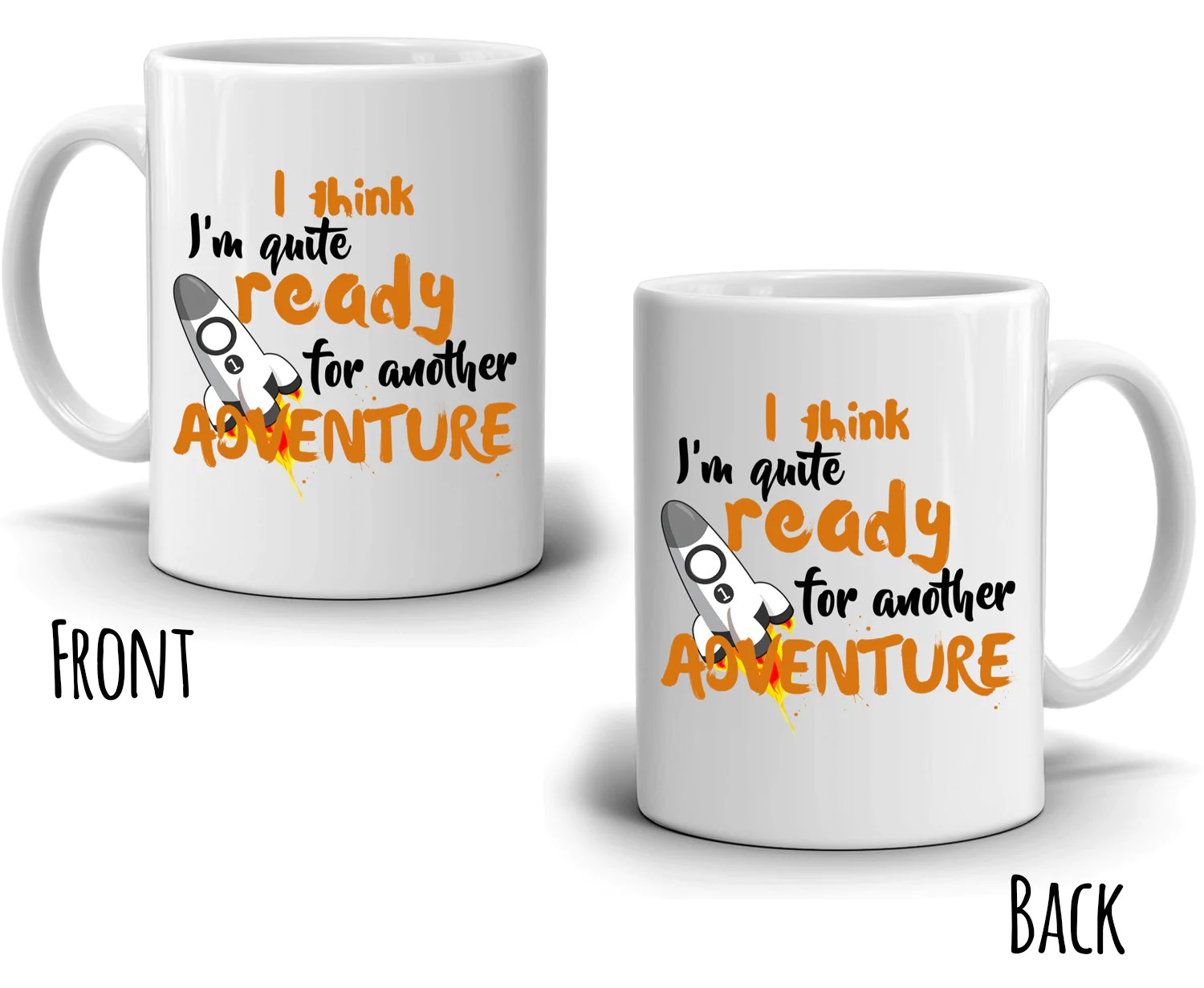 Men Coffee Cups Funny Adventure Graduation Gifts Coffee Mug For Men And