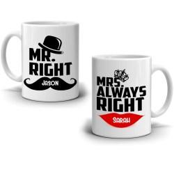 Enchanting Mrs Always Right Coffee Mug Set Mr Right Mrs Always Right Coffee Mug Set Stir Coffee Mug Sets Amazon Coffee Mug Sets Nz Mr Right