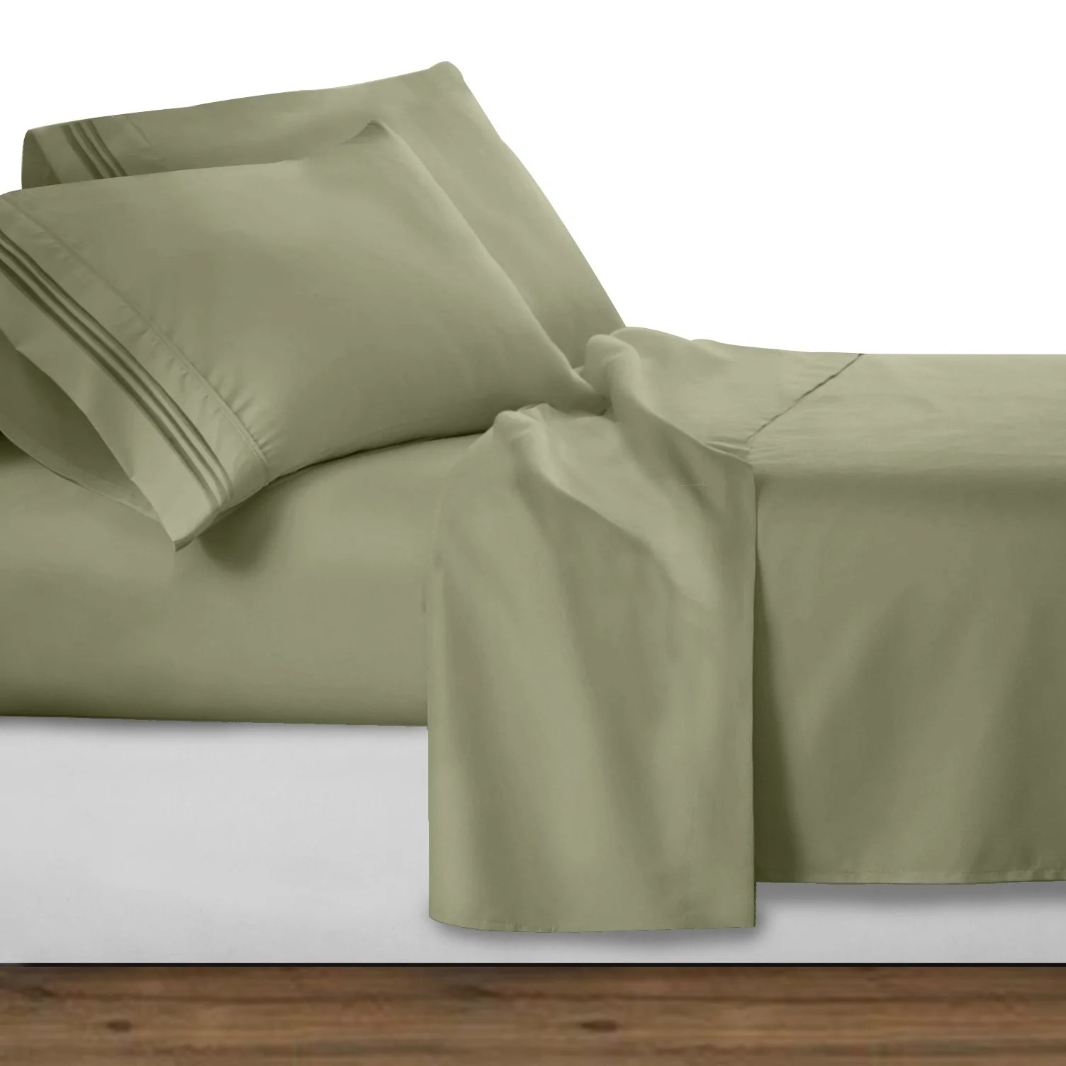 Deep Fitted Sheets Queen Size Waterbed Queen 1800 Series Bed Sheet Set