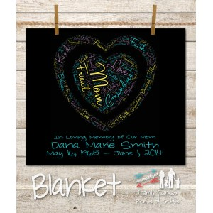 Fulgurant Personalized Loving Memory Heart Word Art Fleece Blanket Personalized Fleece Blankets Cheap Disney Personalized Fleece Blankets Loving Memory Heart Word Art Fleece Blanket Personalized