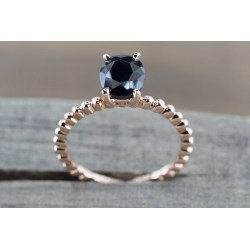Small Crop Of Rose Gold Promise Ring