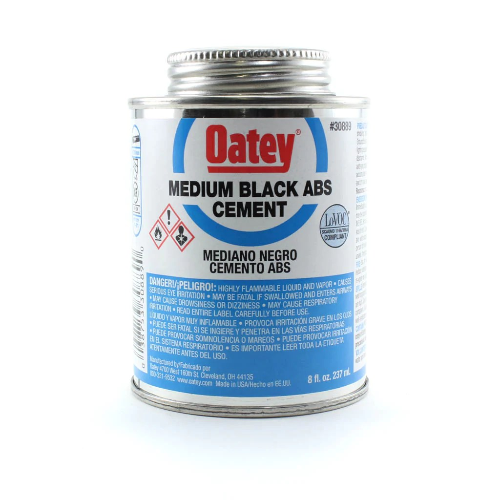 Abs Glue Abs Cement Medium Black