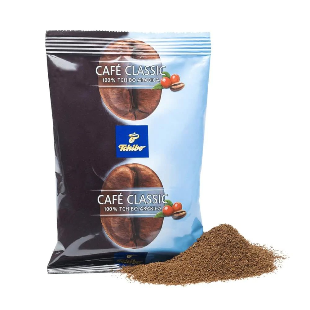 Tchibo Tassen Tchibo Café Classic Decaffeinated Ground Coffee 75x70g Bags