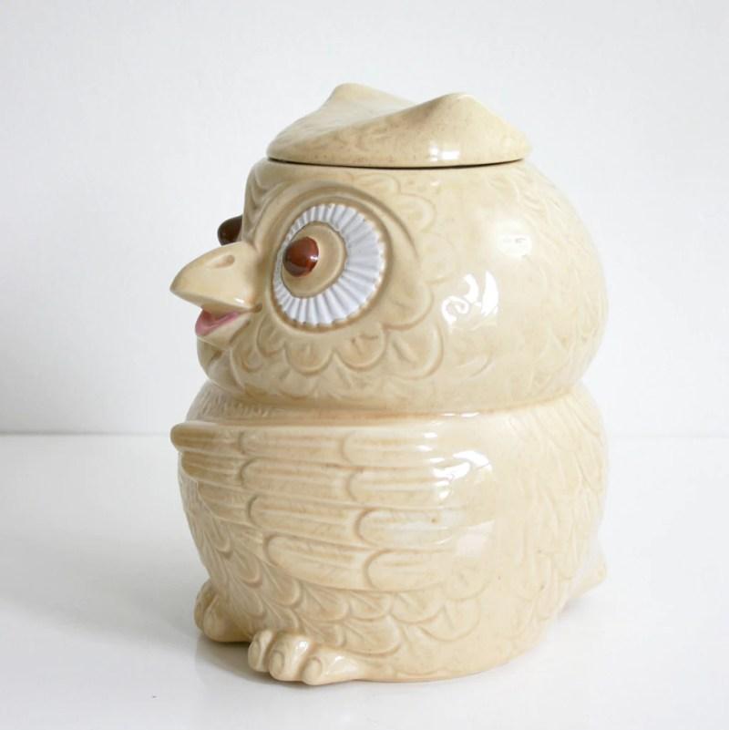 Large Of Owl Cookie Jar