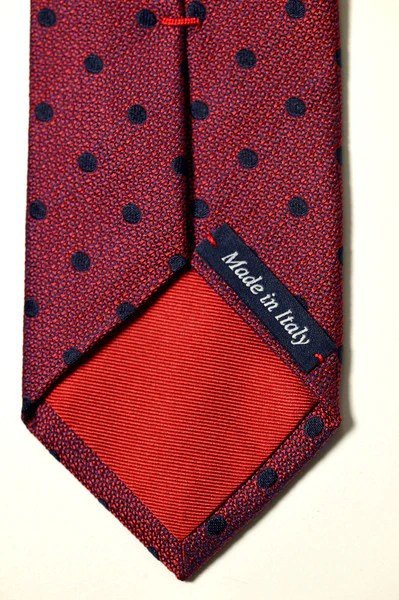 Graduation Invitation Unimelb Pure Silk Tie Dark Red With Navy Spot: Shop Melbourne