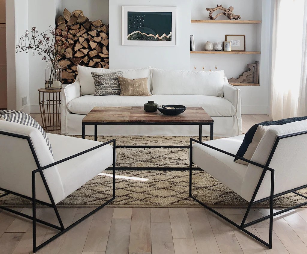 Contemporary Furniture For Small Living Room A Rustic Modern Living Room Makeover Maiden Home