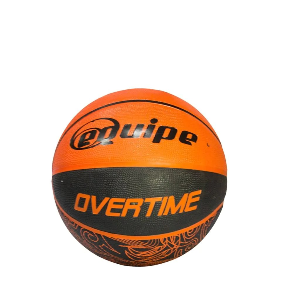 Basketball Ball Equipe Overtime Rubber Basketball