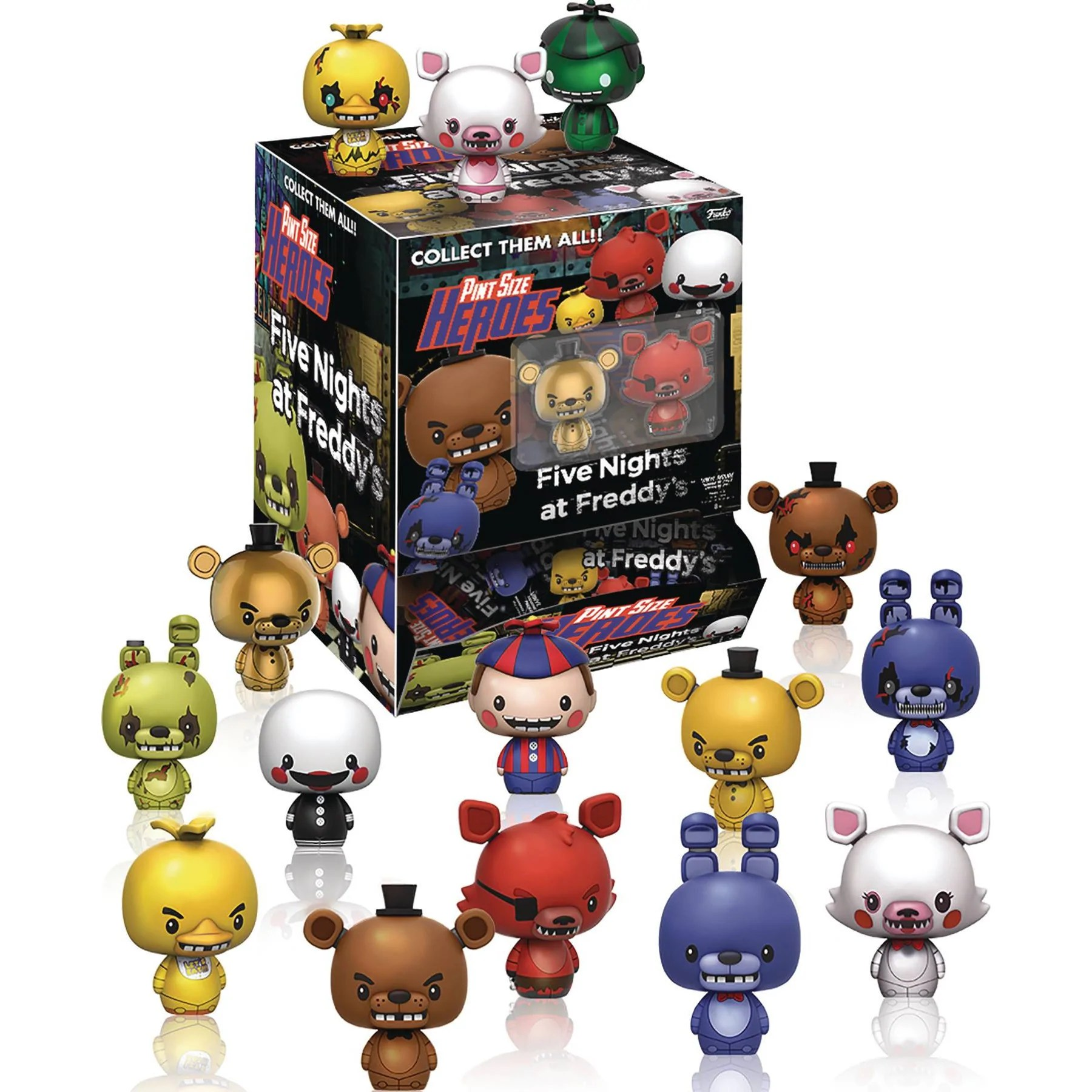 2048 Fnaf Five Nights At Freddy S Mini Figures