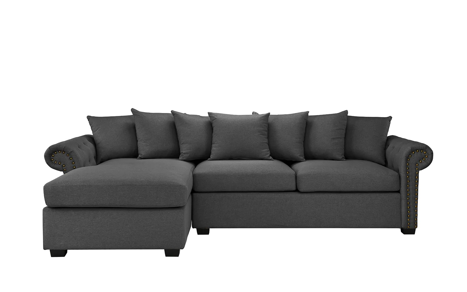 L Shaped Sofa Victorian Melina Classic L Shape Sectional Sofa Sofamania