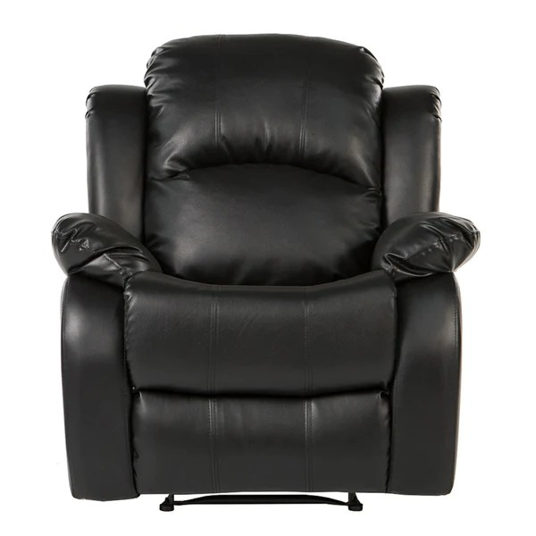 Sofamania Bob Classic Leather Recliner Chair | Sofamania.com