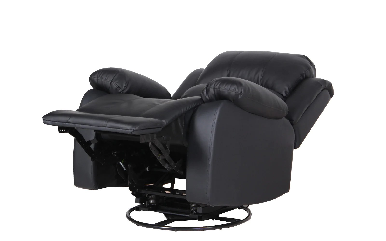 Chair Leather Reclining Swivel Athens Traditional Fabric Recliner Chair