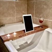 Oak Bath Bar  The Laser Artist
