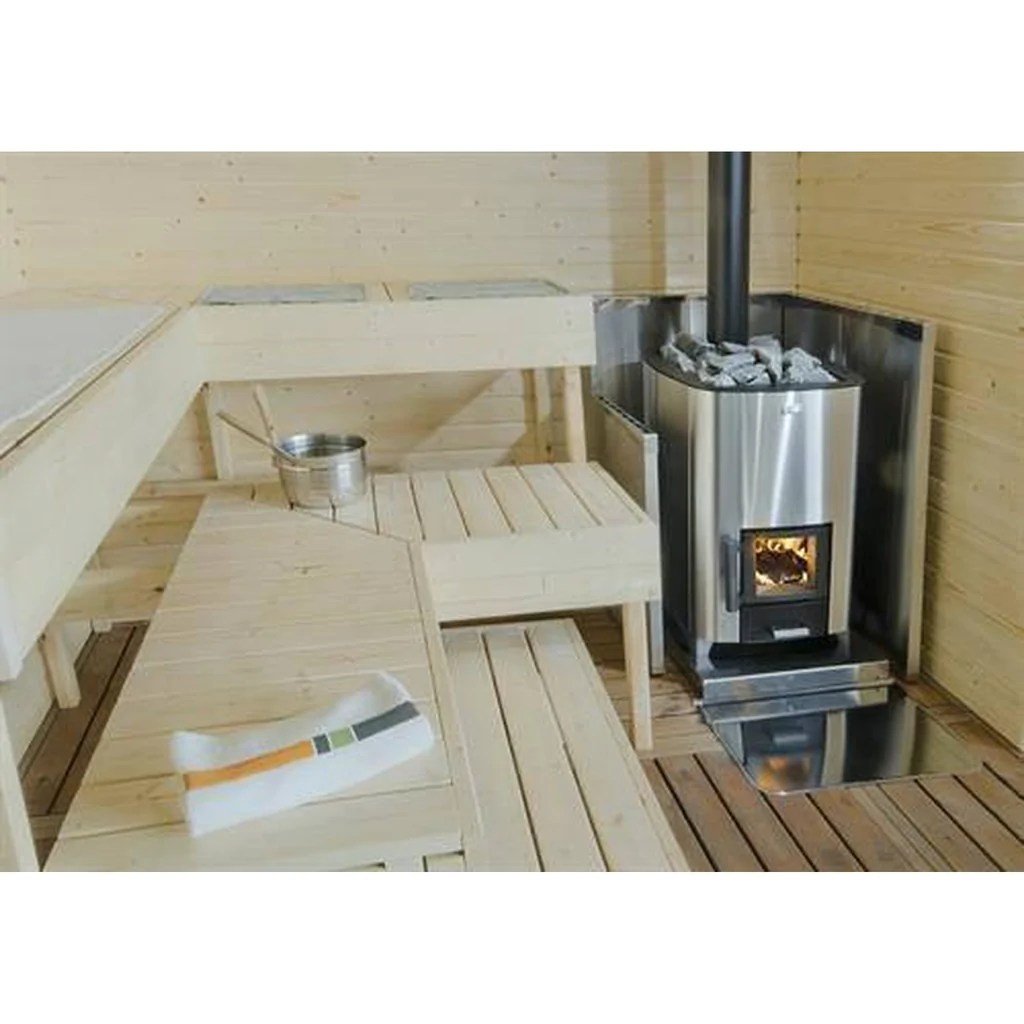Sauna 24 Luxury Wood Burning Sauna Heaters Narvi Nc 16 20 24 Finnmark