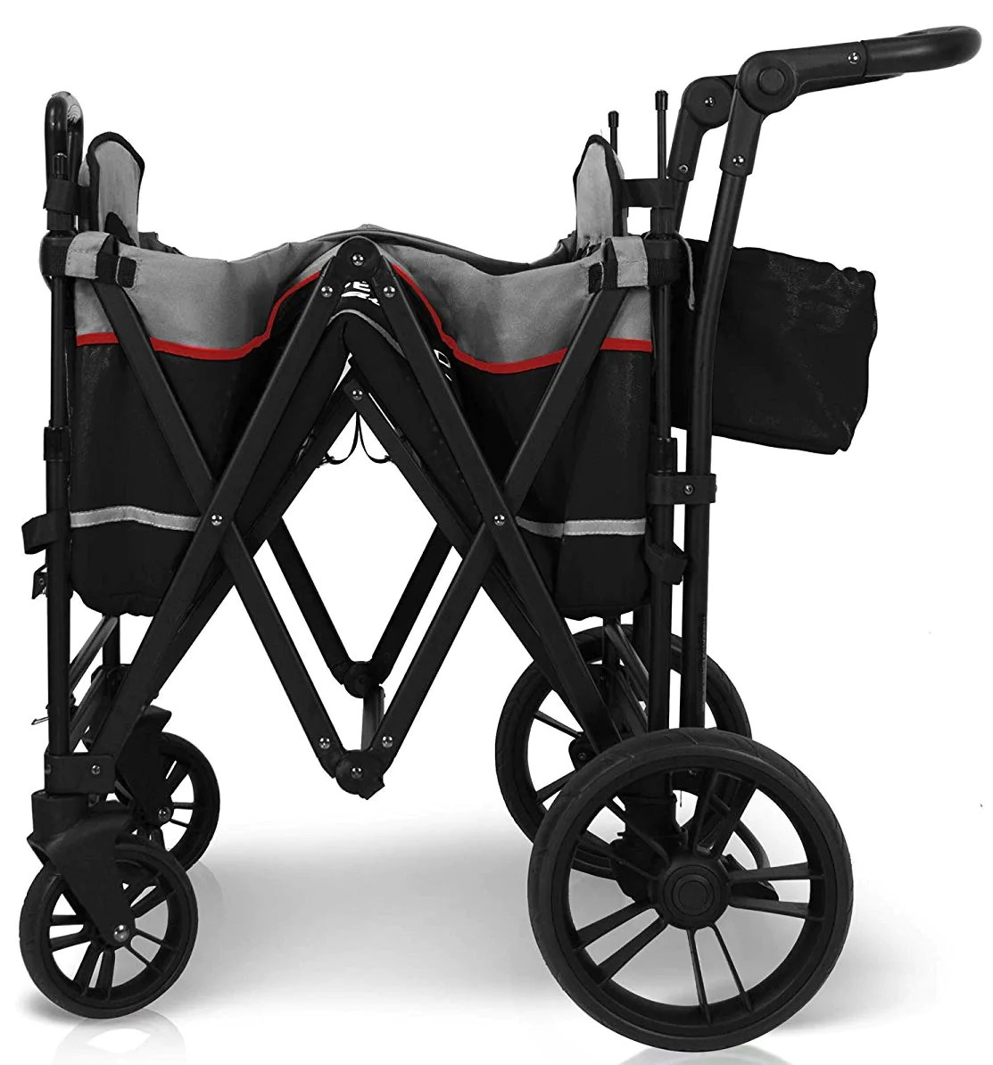 Triple Stroller Infant Car Seat Buy Wonderfold X2 Stroller Wagon Black X2black Online