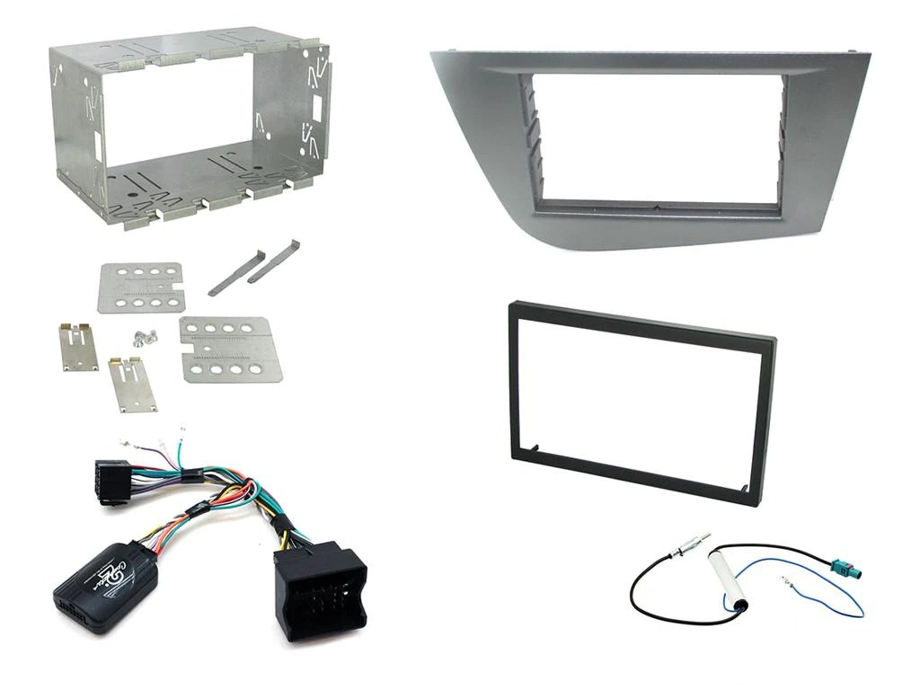 Seat Leon 2 Din Adapter Ctkst06 Full Double Din Fitting Kit For Seat Leon 2005 2012