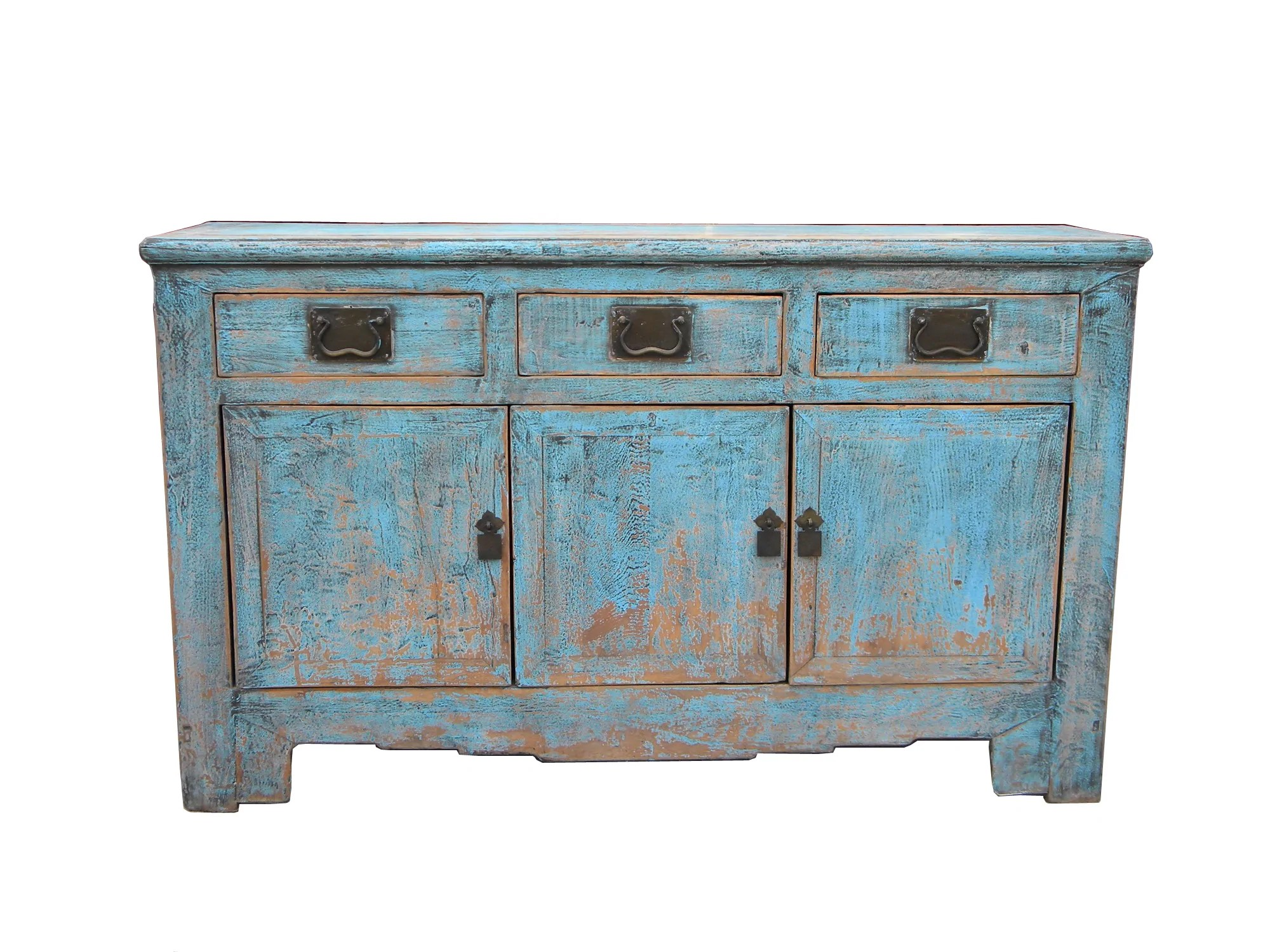 Buffet Sideboard Blue Pale Green Blue Tianjin Buffet