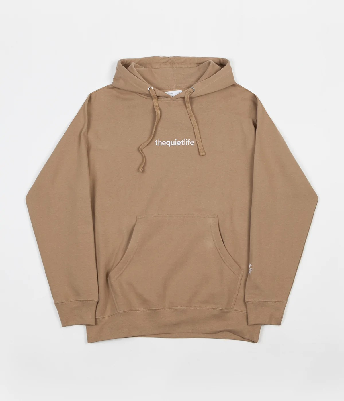 Pull Over Origin The Quiet Life Embroidered Origin Hoodie Sand