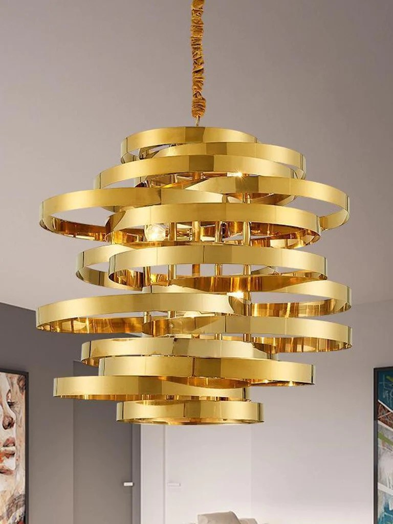 Ceiling Design Online Axel Gold Hanging Light Buy Modern Ceiling Lights Online India