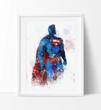 Superman, Superman Poster, Superhero Art Poster, Heroes ...