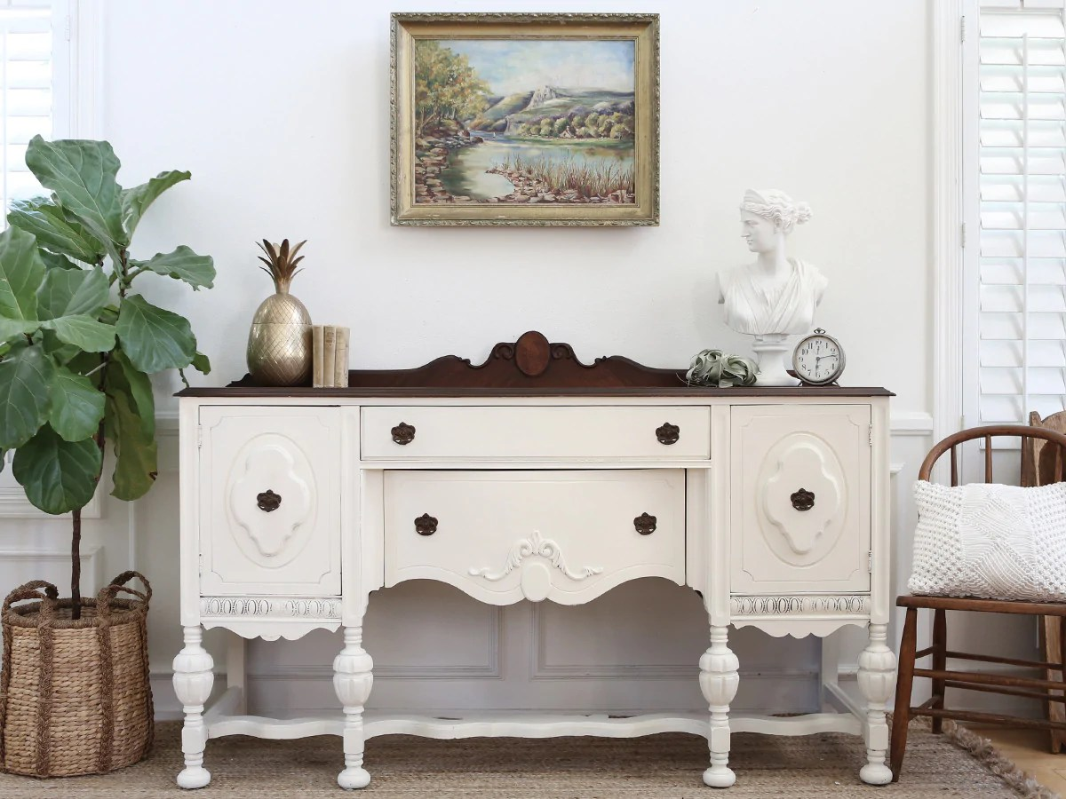 Sideboard Shabby Chic Antique Shabby Chic Buffet Sideboard Credenza Buffet No274