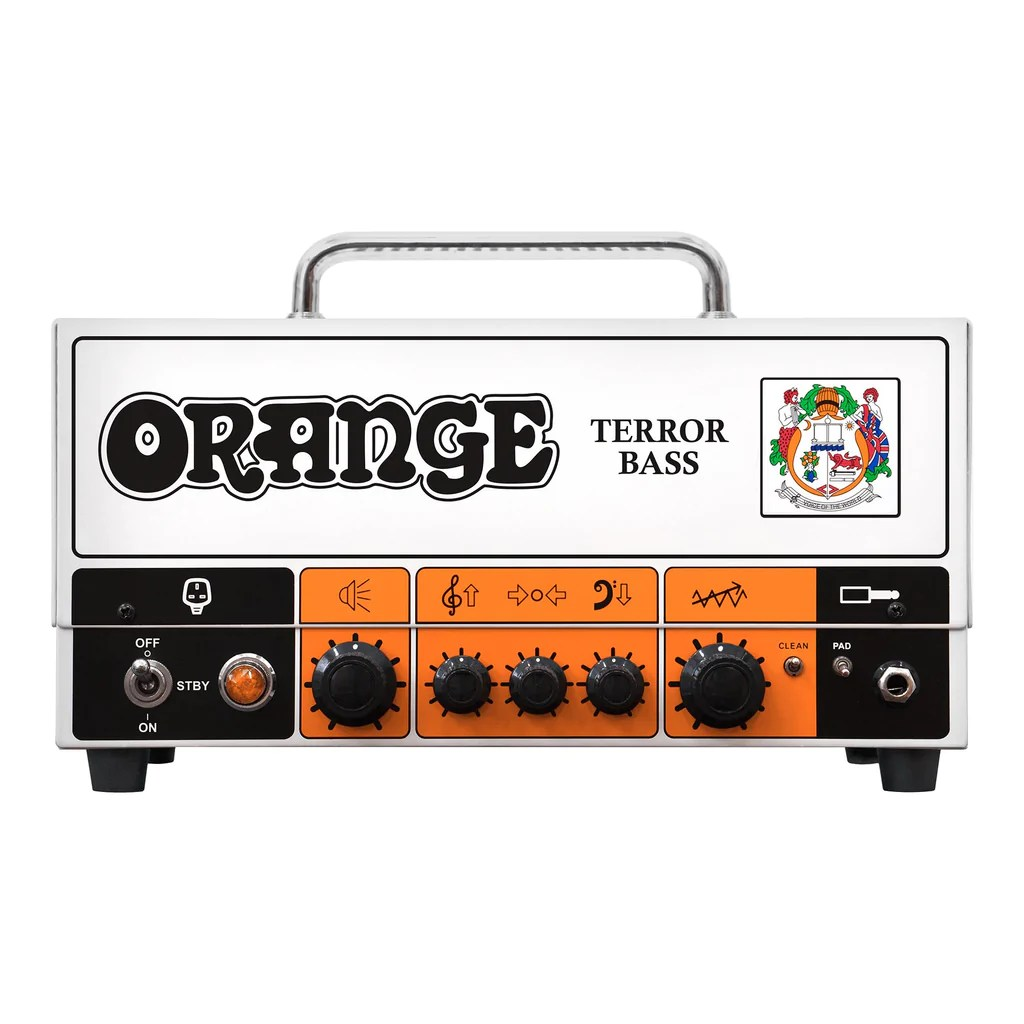 500 Watt Orange Terror Bass 500 Watt Bass Head Russo Music