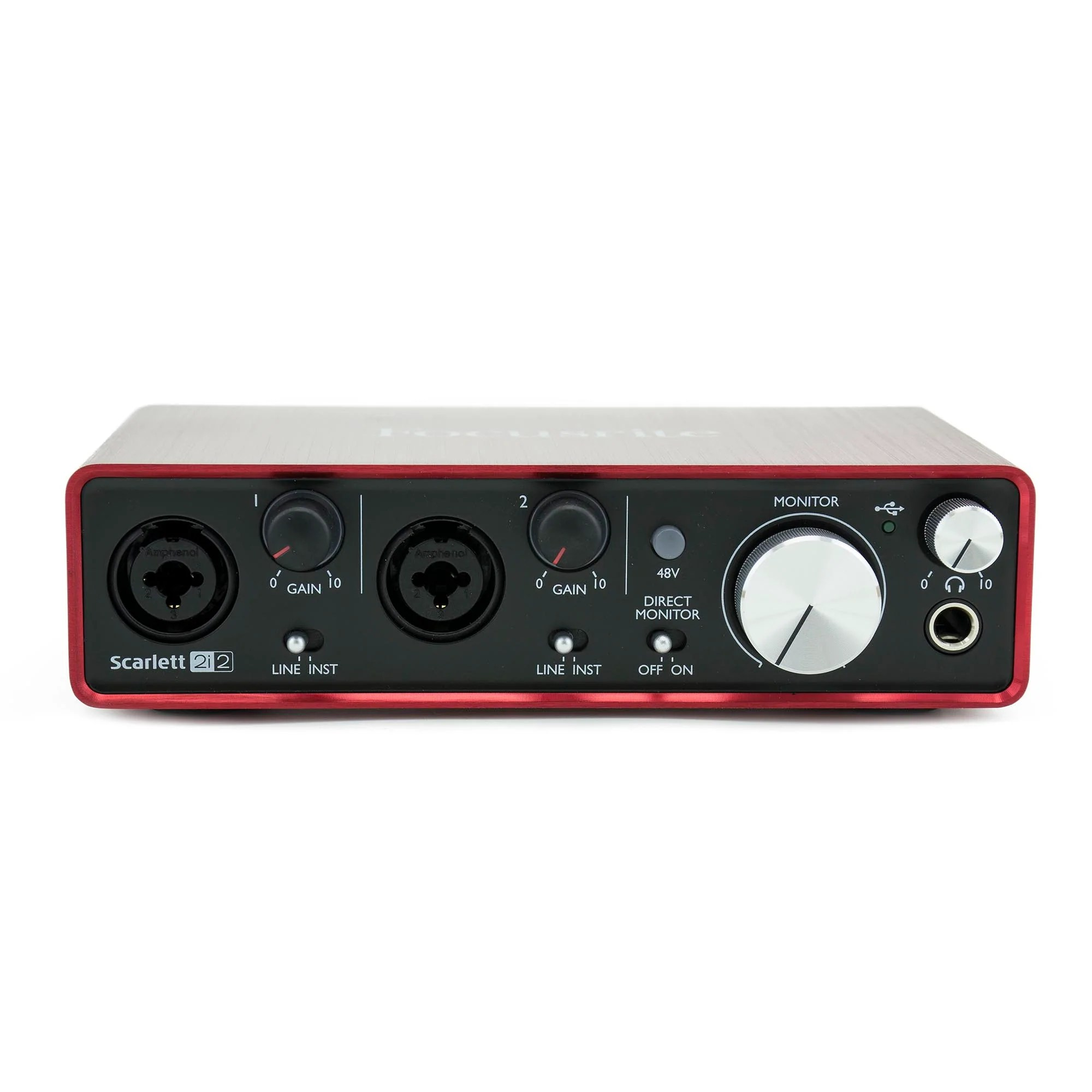 Scarlett 2i2 Focusrite Scarlett 2i2 Usb Audio Interface 2nd Generation