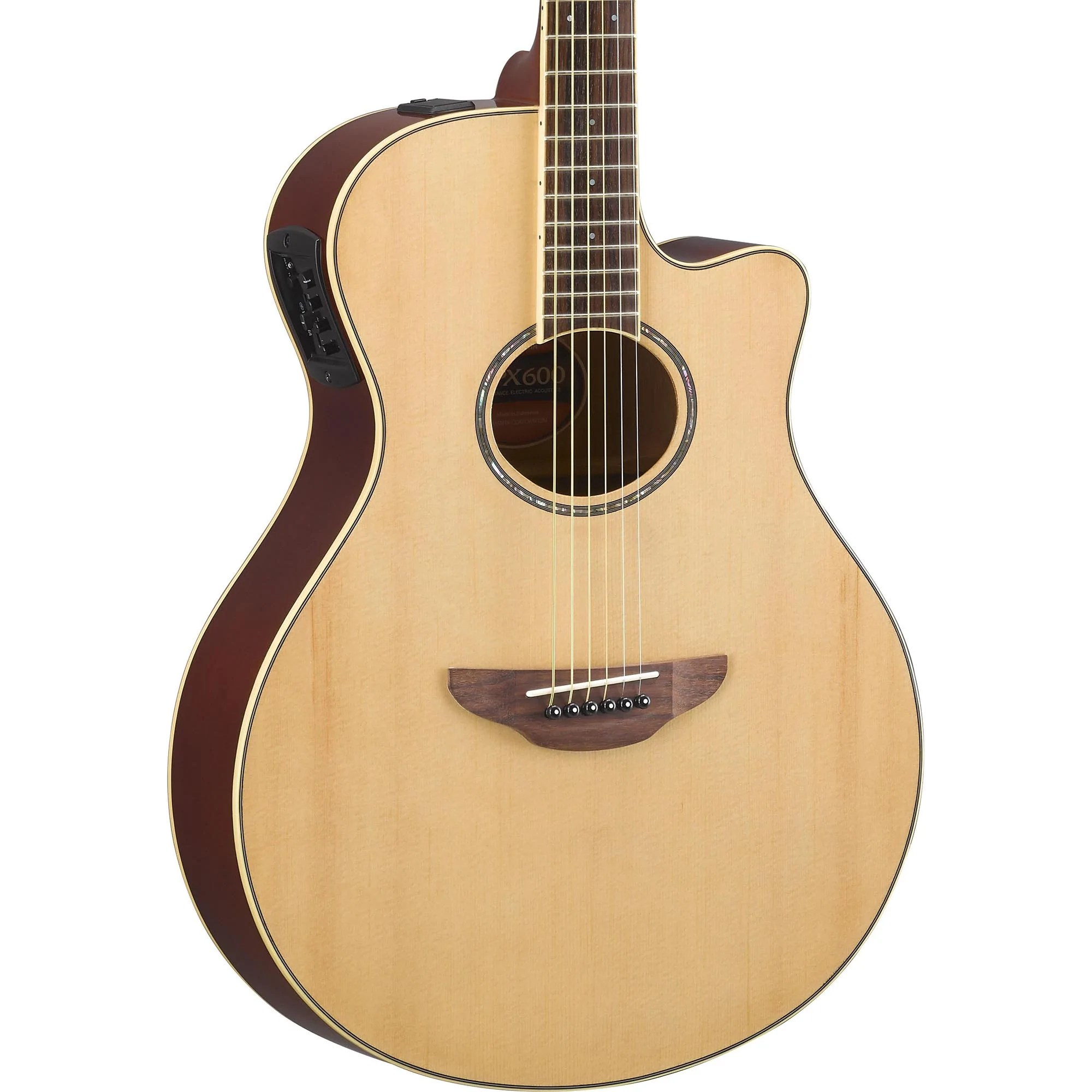 Acoustic Yamaha Yamaha Apx600 Thinline Acoustic Natural