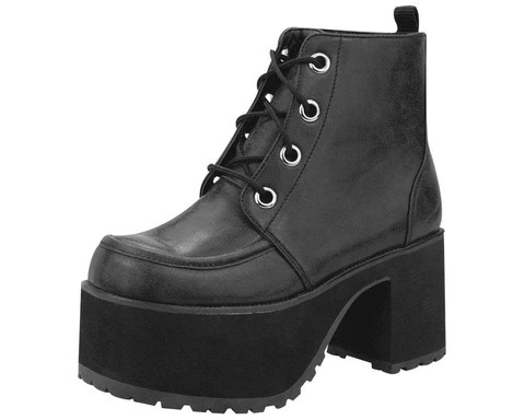 Tuk Footwear Creeper Shoes Platforms Punk Boots