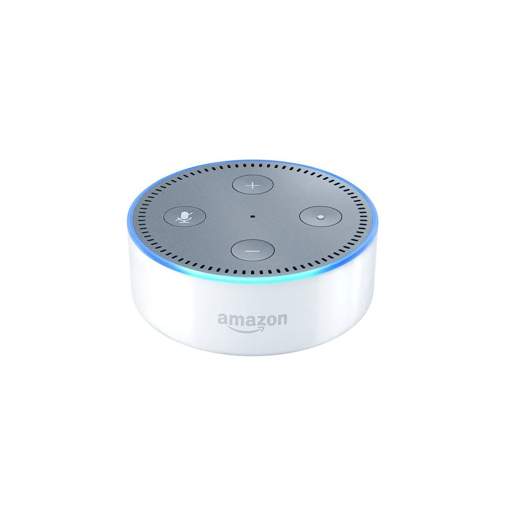 Echo Dot Installation Echo Dot In White Smart Neighbor