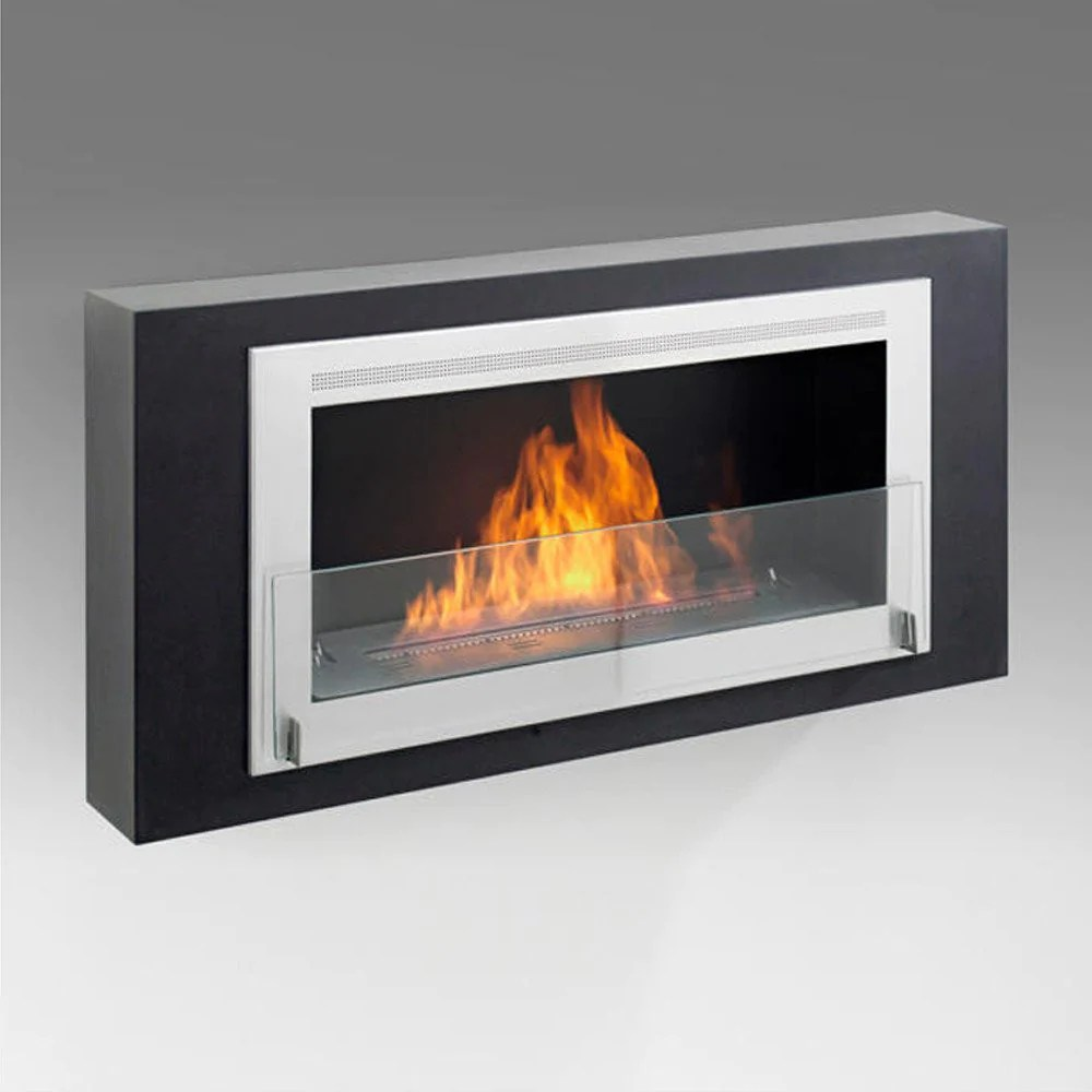 Wall Mount Fireplaces Eco Feu Montreal Wall Mount Fireplace