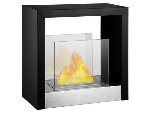 Ignis 785quot Wide Double Sided Ethanol Burning Smart Firebox