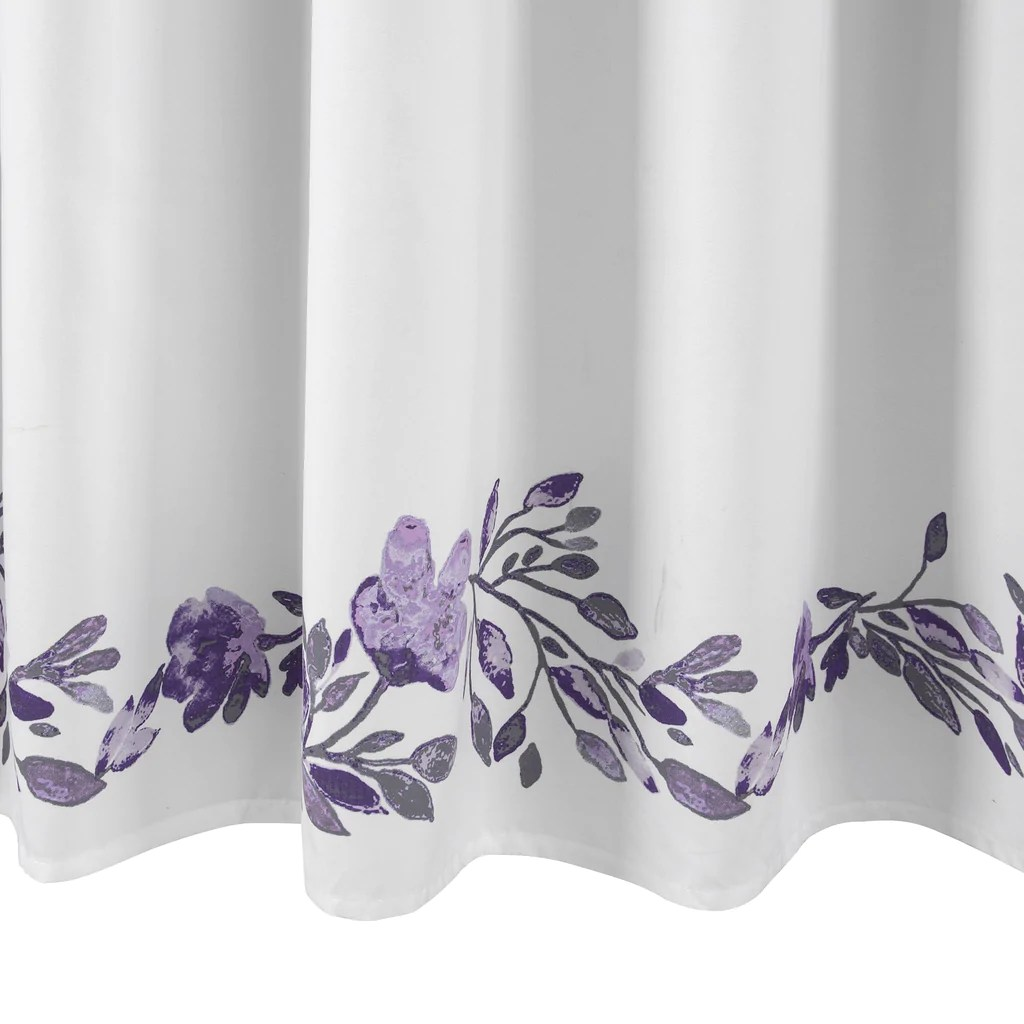 Lavender Shower Curtains Tanisha Shower Curtain