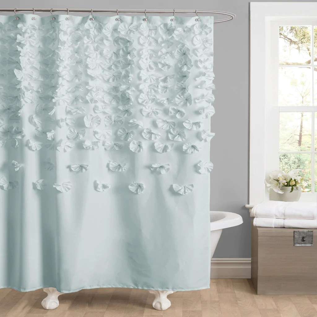 Long Shower Curtain Lucia Shower Curtain