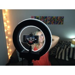 Small Crop Of Ring Light Photography