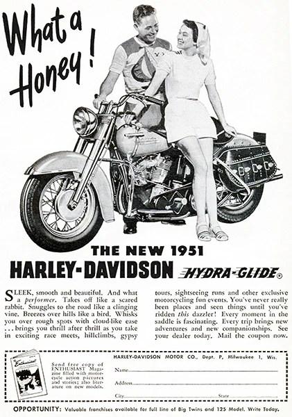 1951 harley davidson hydra glide