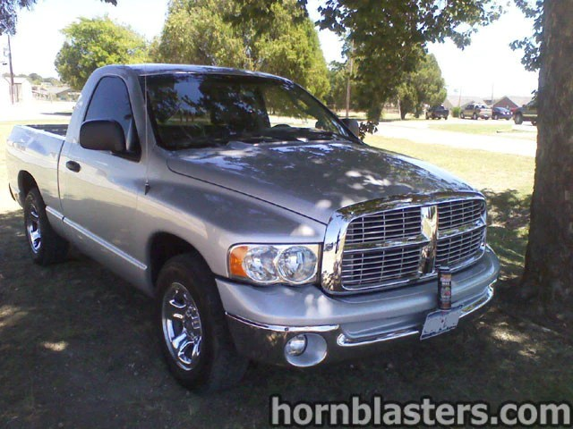 Air Ride Delete Kit Robert 39;s 2004 Dodge Ram 1500 Regular Cab Train Horn Install