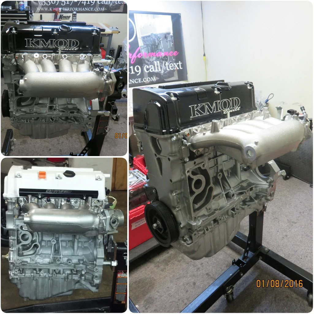 Crate Motors Kmod Stage 1 K24 Crate Engine 220whp