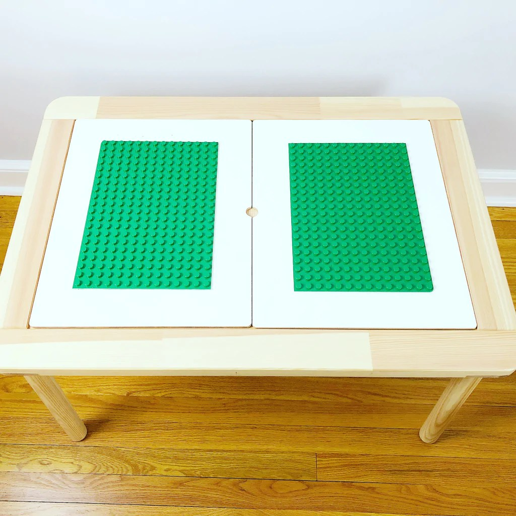 Ikea Table Diy Ikea Hack Duplo Compatible Table Creative Qt