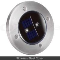 Solar LED Inground Deck Lights  Direct On Sale
