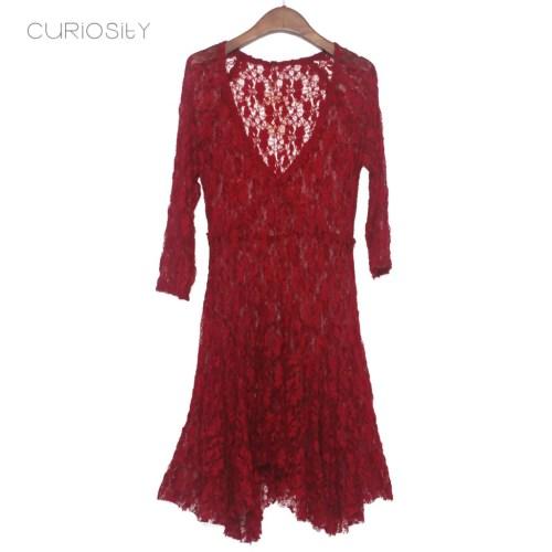 Medium Of Maroon Bridesmaid Dresses