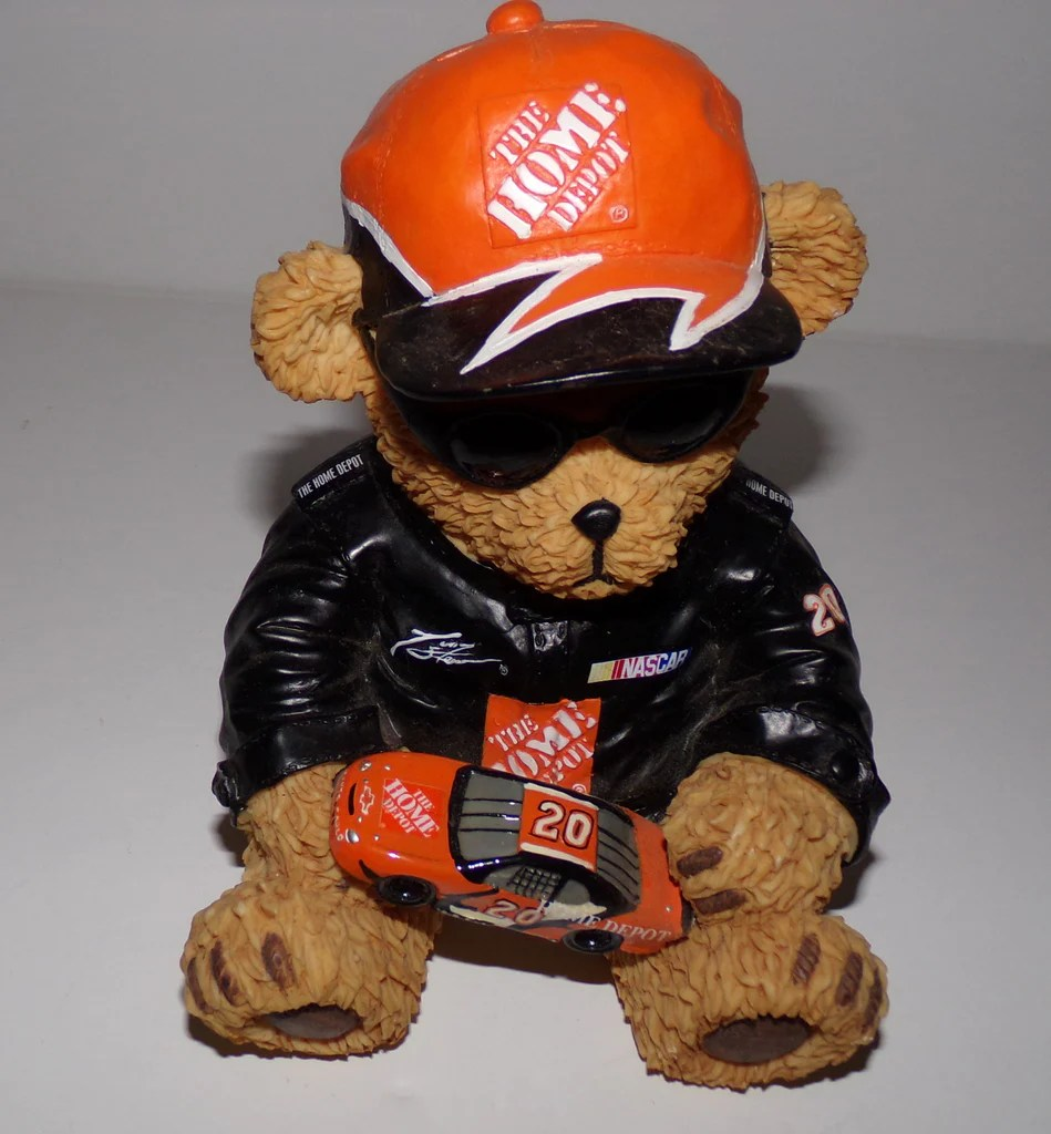 Bank Home Depot The Home Depot Nascar Tony Stewart Bear Bank