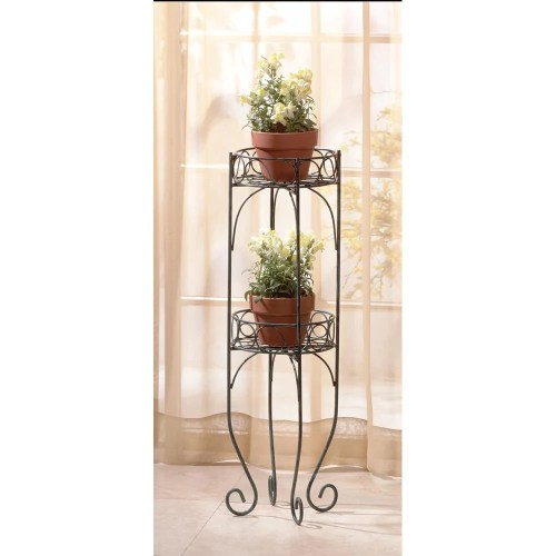 Medium Crop Of Wrought Iron Plant Stands