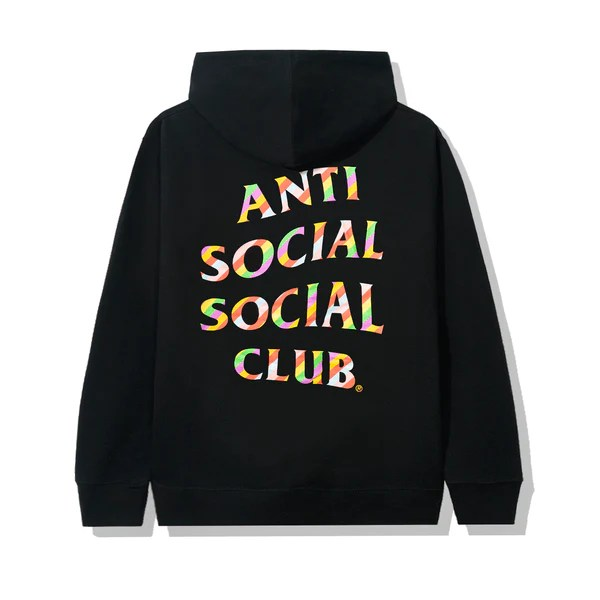 Hoodie Assc Camo Pink Sweeter Then You Think Black Hoodie – Antisocialsocialclub