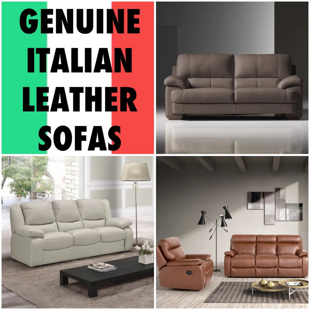 Settee Yorkshire Genuine Italian Leather Sofas In Yorkshire Kc Sofas