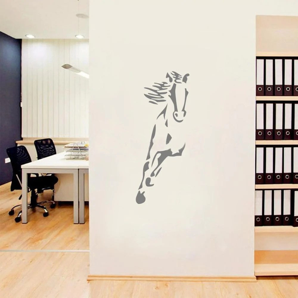 Decoration Murale Cheval Sticker Mural Déco Cheval
