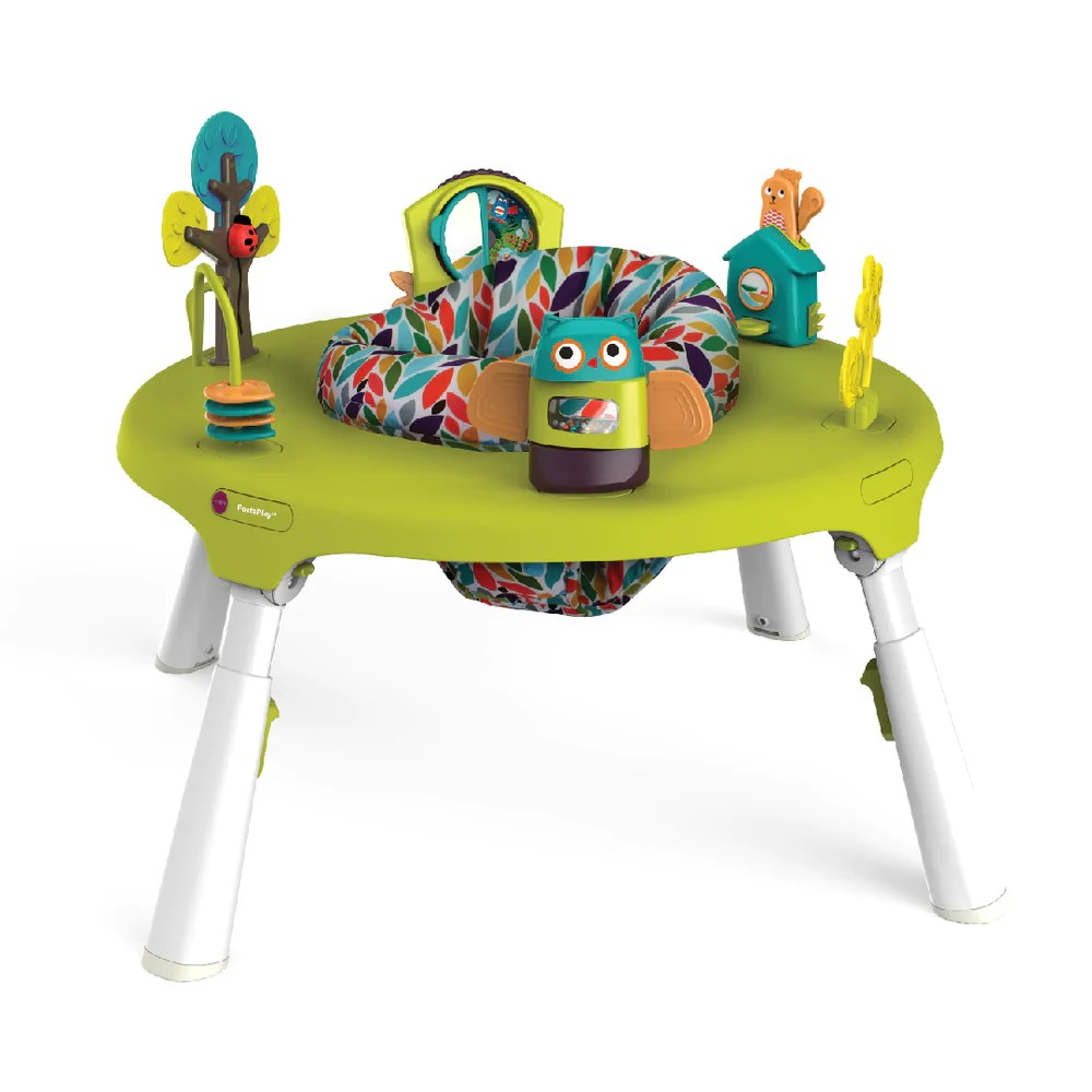 Baby Activity Center Portaplay Convertible Activity Center Forest Friends